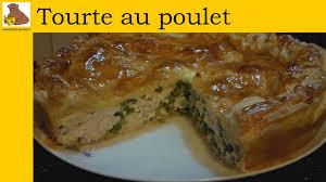 recette de cuisine quiche au poulet la tourte au poulet et petits pois recette rapide et facile hd