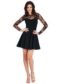 goddiva dresses goddiva mesh skater dress black party dresses glitzy angel