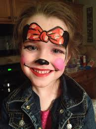 Minnie Mouse Halloween Makeup by Minnie Mouse Costume And Face Paint Kids Crafts Clothing Etc