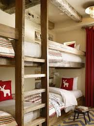 Plans For Building Log Bunk B by Built In Bunk Beds Would Change The Bottom To A Full Size Bed