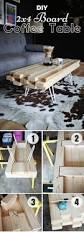 Diy Wood Coffee Table by 15 Easy Diy Coffee Tables You Can Actually Build Yourself