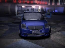 renault clio v6 nfs carbon need for speed carbon citroen c2 vtr nfscars