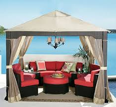 Lowes Gazebo Replacement Parts by Belham Living Steel Pergola Gazebo With Retractable Shade Review