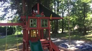 gorilla high crest swing set youtube