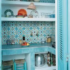 cuisine turquoise des cuisines aux couleurs vitaminées