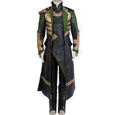 Amazon Com Halloween Costumes Amazon Com Cosplaysky Thor The Dark World Loki Costume Halloween