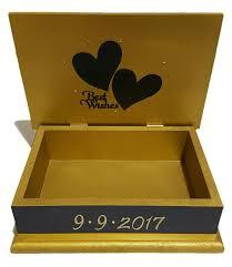 wedding wishes keepsake box navy gold wedding wishes keepsake box renaye s keepsakes