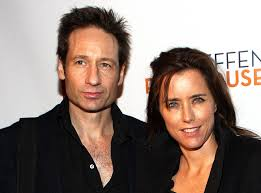 david duchovny and téa leoni prove they u0027re still friendly after