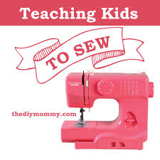 how to teach kids to sew a janome portable sewing machine