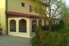 verande in plastica teli in pvc per chiusura laterale di pergolati porticati e gazebo