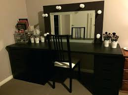 Vanity Set With Lighted Mirror Vanities Large Size Of Bedroomlarge Black Corner Bedroom Makeup