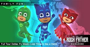 pj masks live hero tour dates revealed