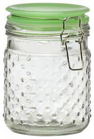 amici home emma jade hobnail canister contemporary kitchen