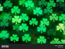 st patricks day green shamrock image u0026 photo bigstock
