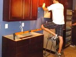 valuable picture of elegant how to install kitchen cabinets