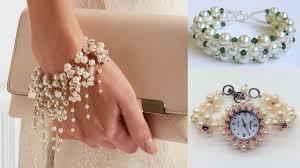 pearl bracelet designs images Beautiful pearl bracelets designs pearl jewellery jpg
