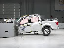 2015 ford f 150 crew cab driver side small overlap iihs crash test
