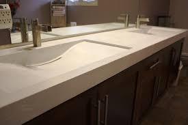fantastic trough sinks for bathrooms and modern rectangular trough