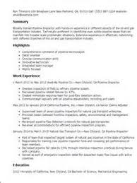 Inspector Resume Sample Precision Inspector Resume Resume Templates Quality Control