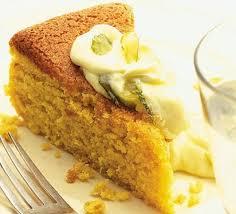 orange u0026 almond cake with citrus mascarpone recipe bbc good food