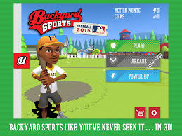 backyard sports sandlot sluggers back against the wall images with