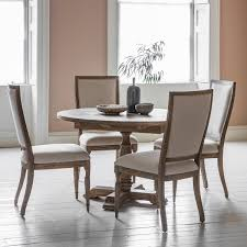 French Colonial Kitchen by French Colonial Round Extending Dining Table 4 To 6 Seater Fads