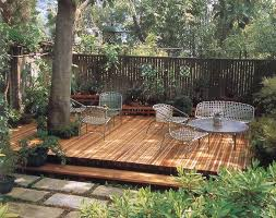 Backyard Deck Plans Pictures by Shady Deck Around Tree Keith Davitt Beyond The Lawn Outside