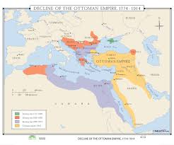 The Ottoman 133 Decline Of The Ottoman Empire 1774 1914 Kappa Map