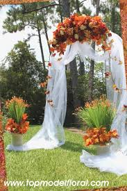 fall wedding arch u0026 decorating ideas unique floral arrangements