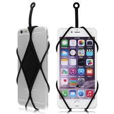 necklace holder case images New silicone lanyard case cover holder sling necklace wrist strap jpg