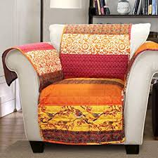 Tangerine Home Decor Amazon Com Lush Decor Royal Empire Slipcover Furniture Protector