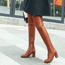womens the knee boots size 12 winter boots the knee boots high boots 2017 autumn