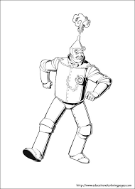 awesome inspiration ideas wizard oz printable coloring pages 8