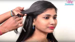 open hairstyles for round face dailymotion 5 easy hairstyles for long hair step by step tutorial simple