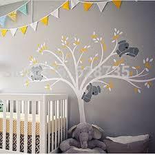stickers pour chambre enfant surdimensionné grand koalas arbre vinyle wall sticker pour chambre d