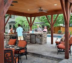 outdoor covered kitchen kitchen decor design ideas