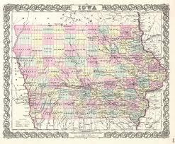 map of iowa towns iowa mccord