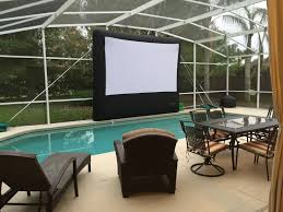 Movie Canopy by Inflatable Movie Screen Bouncing Beez