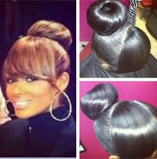 black hairstyles with bun and bangs hairstyles buns with bangs best hairstyles inspirational ideas 2018