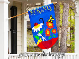 outdoor decorative flags in easy ideas landscaping backyards ideas