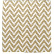 chevron stripes shower curtains zazzle