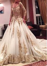 indian wedding dresses luxury tulle v neck neckline a line see through wedding dresses