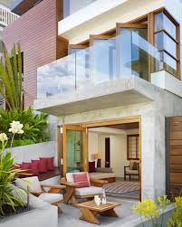 awesome tropical house above the beach square feet pictures with