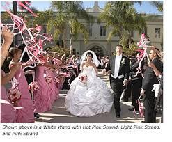 wedding wands bubbles or ribbon wands weddingbee