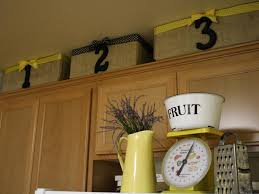 Kitchen Decorations For Above Cabinets Ci A Diamond In The Stuff Baskets Above Cabinets H Jpg Rend