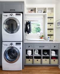 Laundry Room Storage Between Washer And Dryer by To Stack Or Not To Stack Beneath My Heart