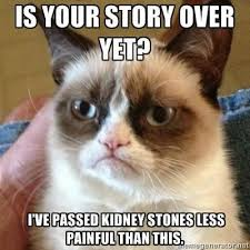 Kidney Stones Meme - why wednesday why kidney stones are a b tch laugh up my sleeve