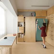 Movable Walls For Apartments Rotating Walls Offer Alternative Layouts For Flat By Pkmn