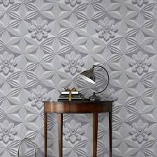Trompe L Oeil Wallpaper Murs Effet Trompe L U0027oeil Avec Ce Papier Peint Blanc Marcel