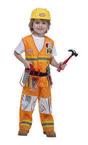 construction worker costume tikes construction worker costume 3 4t toys